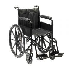 Budget Steel Wheelchair