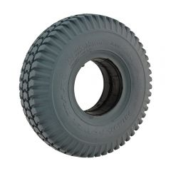Infilled Grey Block 3.00 x 4 Tyre