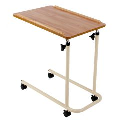 Corton Overbed Table - with Castors