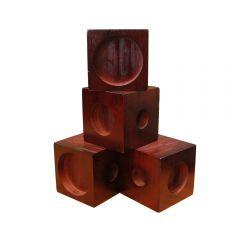 Wooden Chair Raiser Blocks