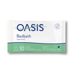 Oasis Bedbath Washcloths (Pack of 10)  (Unscented)