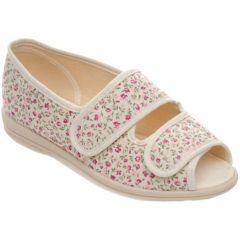Millie Beige/Pink Floral - Size 5 & 6
