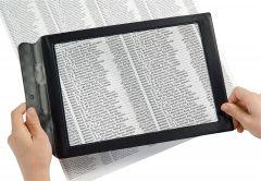 Flexible Sheet Magnifier