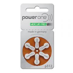 Hearing Aid Batteries - Brown