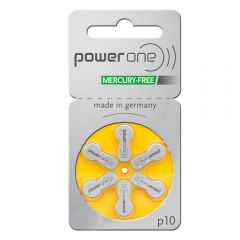 Yellow Hearing Aid Batteries