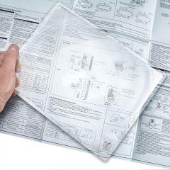 Rigid Sheet Magnifier