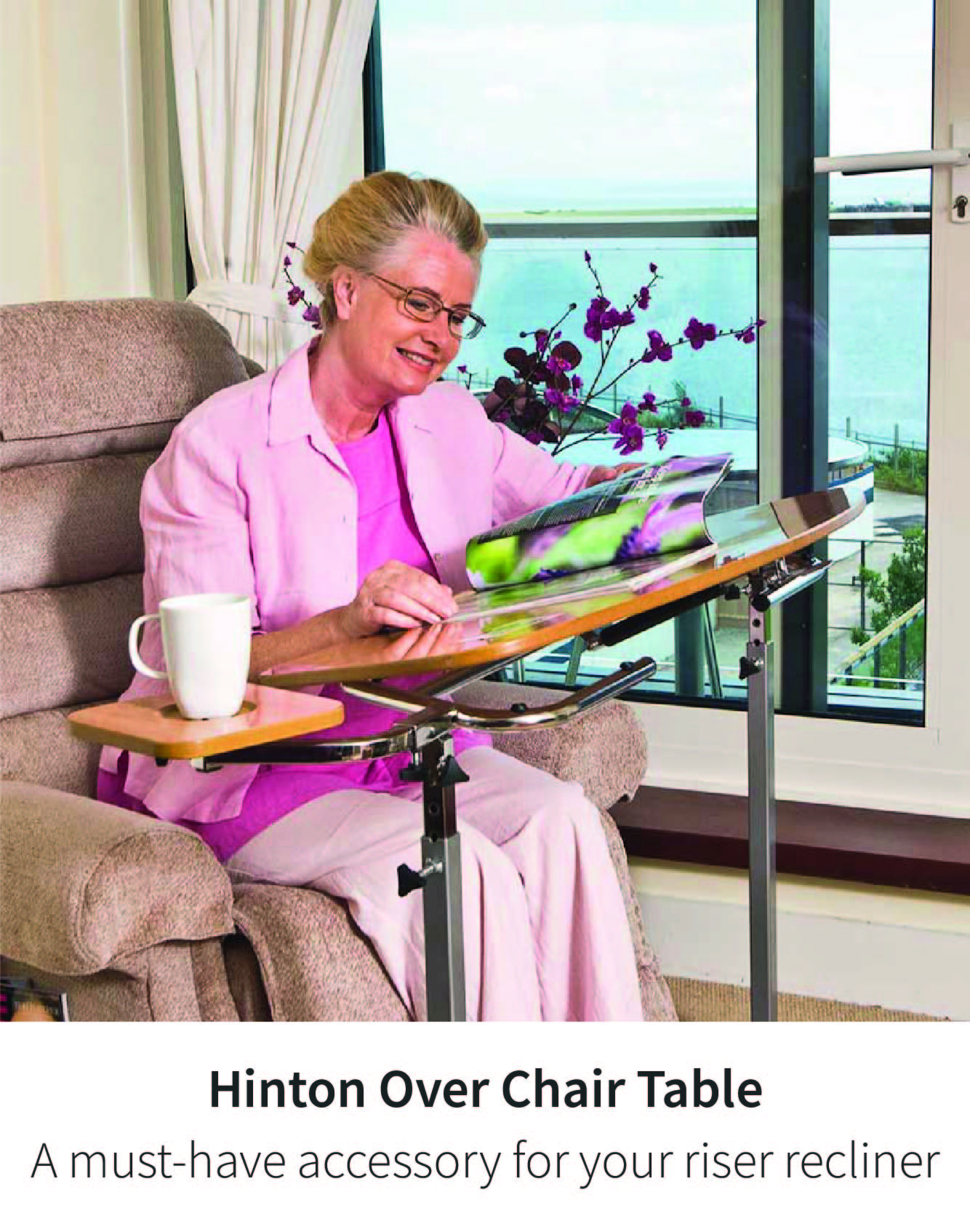 The Hinton Over Chair Table