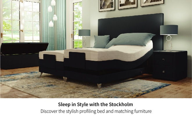 Sleep well with the Stockholm Profiling Bed