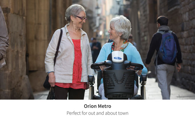 Hit the town with the Orion Metro scooter