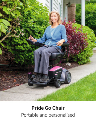 Portable and personal - The Pride Go Chair