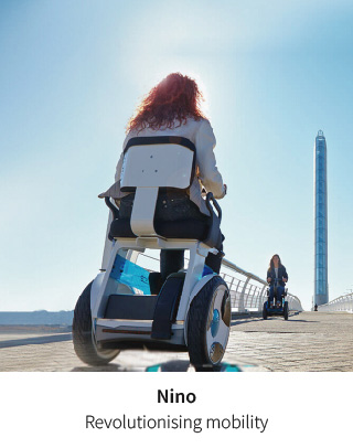 The future of mobility - The Nino self balancing powerchair