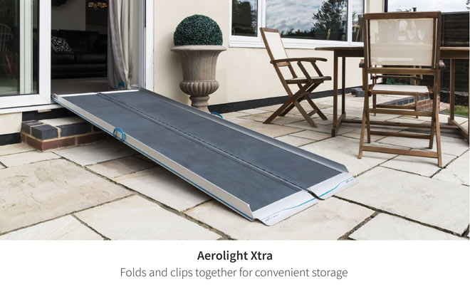 The versatile, folding Aerolight Xtra Ramp.