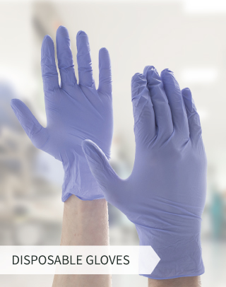 Order disposable gloves for immediate delivery