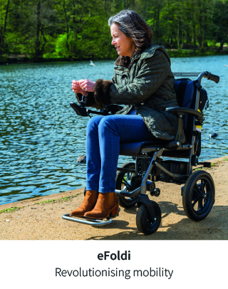 The future of mobility - The eFoldi Folding Powerchair